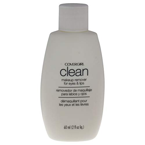 (COVERGIRL Clean Makeup Remover for Eyes & Lips, 2 oz (Packaging May Vary) Old Version)