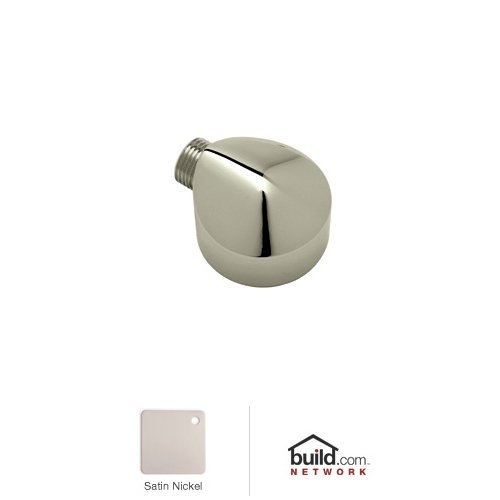 Rohl E824STN 1/2-Inch Female by 1/2-Inch Male Bossini Wall Outlet E824/1 in Satin Nickel