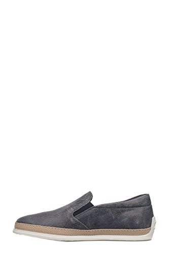 Tod's Men's XXM0TV0K900LELU810 Blue Suede Slip On Sneakers clearance fake real cheap price from china pick a best online g31C64FhfV
