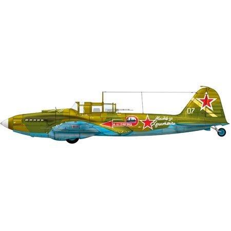 Ilyushin IL-2m3 Stormovik Highly Detailed 1:48 Scale Kit : Soviet Ground Attack Aircraft : Plastic Model Kit