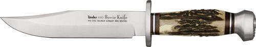 Linder Original 440A Stainless Bowie Knife, 12.25in.