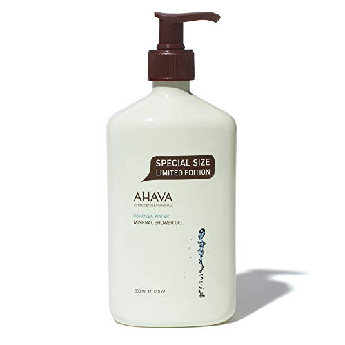 AHAVA Dead Sea Mineral Shower Gel, 17 Fl Oz