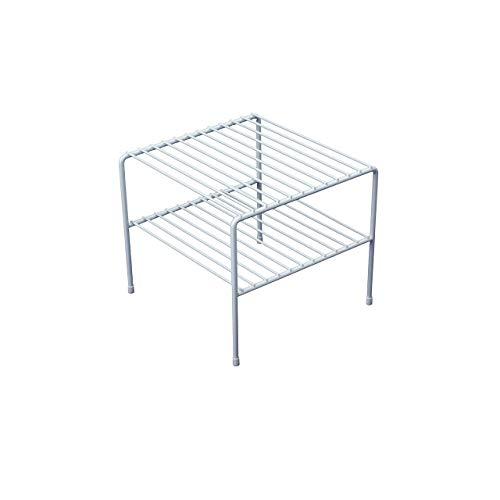 (Organized Living Double Shelf - White)