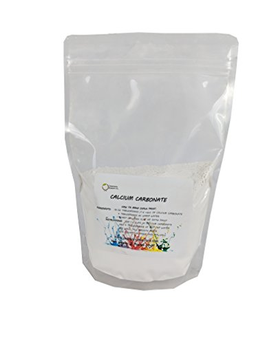 "Calcium Carbonate Powder ""Greenway Biotech Brand"" Chalk Paint Additive Limestone Powder Rock Dust Very Fine Powder 2 pounds"