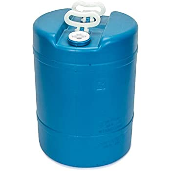 Amazon com: Blue 55 Gallon Water Storage Tank by