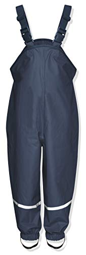Playshoes Unisex Baby and Kids' Rain Pants 3-4 Years Navy ()