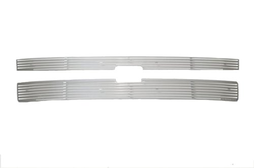 (Putco 91191 Liquid Billet Aluminum Grille for Select Chevrolet)