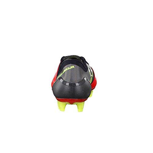 Under Armour Spotlight FG–Botas de fútbol para hombre rojo/amarillo/negro