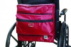 Wheelchair backpack storage bag 9 colors (Navy Blue)