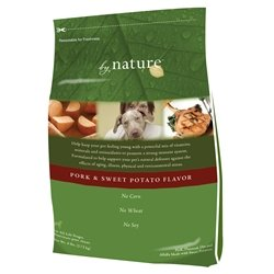 By Nature Natural Pork Dry Dog Food 6lb