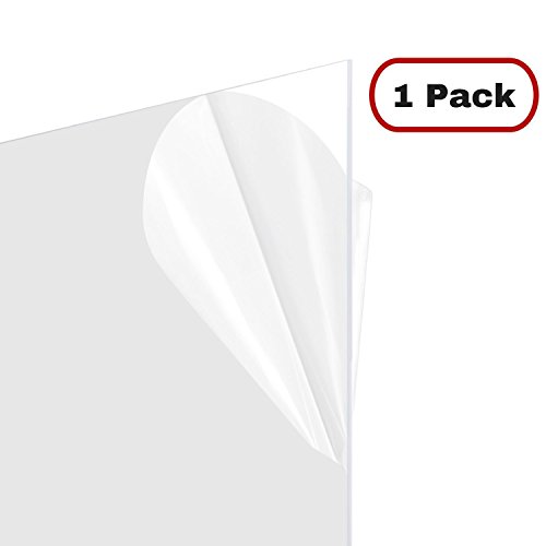 Master Cover Sheet for Poster Frames, 24x36 Inch Clear Plastic