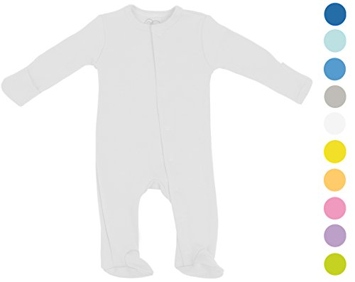 Baby Bodysuit Footie Organic Cotton