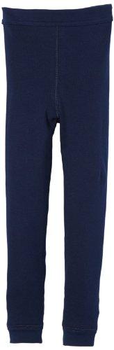 Schiesser Jungen Slip Hose Lang, Gr. 140 (Herstellergröße: 140 (8-9Y)), Blau (803-dunkelblau)