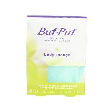 Buf Body Sided Double Puf Sponge - Buf-Puf Buf-Puf Body Sponge, 1 each (Pack of 2)