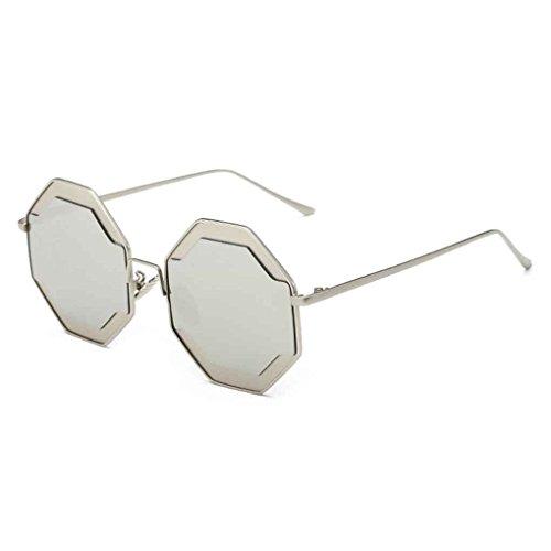Meisijia Signore delle donne fredda irregolare Telaio Sunglass Eyewear per la corsa esterna pa7zOFPL