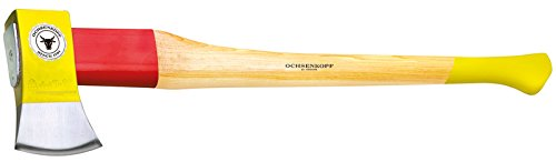 Ochsenkopf Axe SPLIT-QUICK ROTBAND-PLUS with hickory handle 80 cm by Ochsenkopf