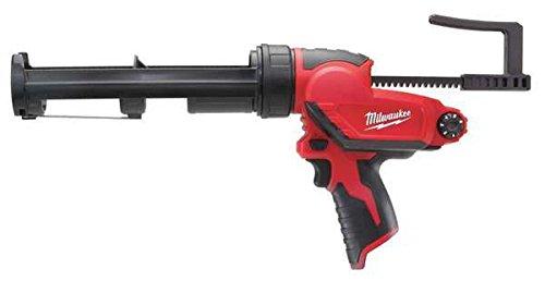 Milwaukee Electric Tool - 2441-20 - Cordless Caulk Gun, 12V, 10 Oz