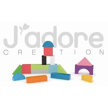JAdore Paris Nature Wood Toys Trendy Wooden Blocks J/'Adore