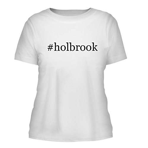 #holbrook - A Nice Hashtag Misses Cut Women's Short Sleeve T-Shirt, White, - Holbrook Shaun White