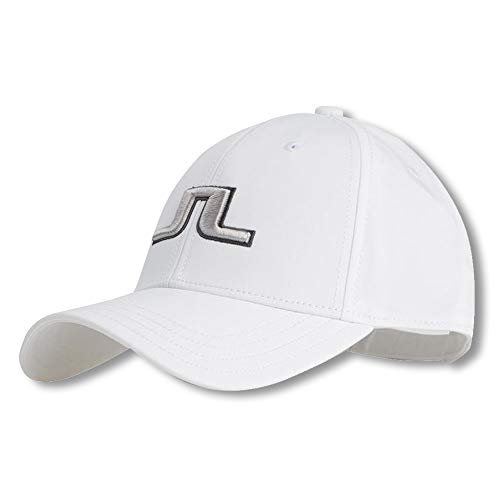 J. Lindeberg Angus Tech Stretch Cap (White)