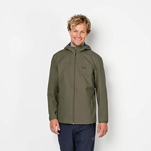 Softshell Woodland Point Green Homme Pour Northern Wolfskin Veste gqwUTSw