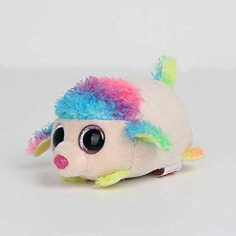 45c17ea63bf Image Unavailable. Panrot 10CM Mini Original Ty Plush Toys Beanie Boos Big  Eyes fox unicorn Pocket TSUM Candy