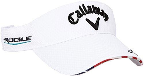 (キャロウェイ アパレル) Callaway Apparel [ メンズ] 定番 ロゴ入り サンバイザー (ツアーモデル) / 247-8990601 / 帽子 ゴルフ