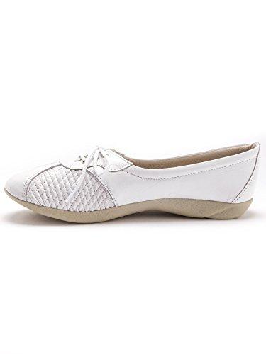 Mujer Zapatos Pediconfort Cordones De Blanco qBxYXP
