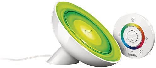 Philips LivingColors Bloom Lampada da Tavolo LED, 8 W, Bianco