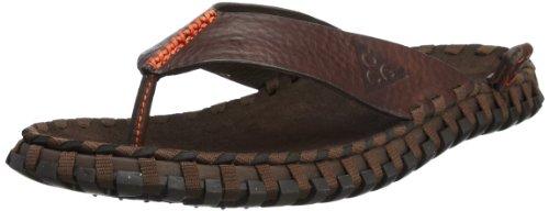 NIKE Sidewinder 2 ACG Brown Leather Orange Outdoors Slippers