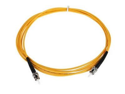 Amazon.com: ST to ST Fiber Optic Patch Cable - 1M / 3.28ft - Single Mode - SIMPLEX - Commercial Quality: Home Audio & Theater