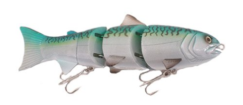 Spro SB80 BBZ1 Fast Sinking Swim Bait-Pack of 1, Mackerel