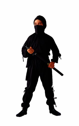 RG Costumes Ninja Costume, Child Large/Size 12-14
