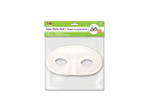 Multicraft MULKC260.C DIY Paper Mache Mask with Band Classic]()
