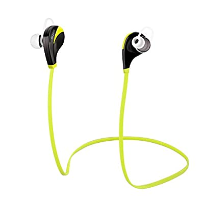 [2015 Sport Wireless Bluetooth Headphones]PECHAM E915 Kinetic Series Wireless Bluetooth Headphones Noise Cancelling Headphones with Microphone Sports/Running/Gym /Exercise/Sweatproof Wireless Bluetooth Earbuds Headset Earphones for Apple Iphone 6 Iphone 6