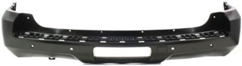 Crash Parts Plus Primed Rear Bumper Cover Replacement for 2007-2014 Chevy Tahoe, GMC Yukon