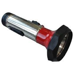 Klassische Retro Taschenlampe mit moderner LED-Technik inkl. 2x Mono Batterien CRONE