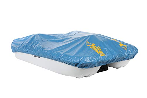 Pelican Boats Blue Vinyl Pedal Boat Mooring and Storage Cover (Pelican Monaco and Rainbow Models)