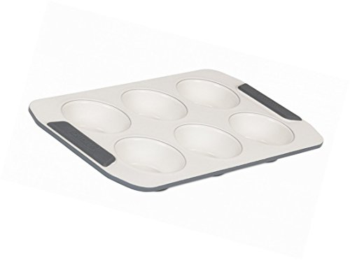Muffin Pan Ceramic Non Stick 6 Cup Bakeware Cupcake Mould Pastry Mold Cake Baking Tools Homey Delight
