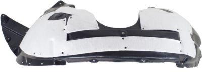 Ford Explorer Front Splash Shield - Crash Parts Plus Front, Driver Side Plastic Splash Shield for 2011-2014 Ford Explorer FO1248149