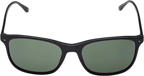 Giorgio Armani  Men's 0AR8089 Matte Black/Crystal Green Sunglasses