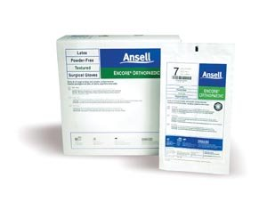 Ansell 5788005 Encore Powder-Free Orthopaedic Sterile Surgical Glove, Size 8 (Pack of 200)