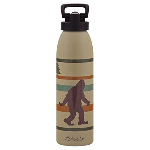 Liberty Bottleworks Hide & Seek Sport Water Bottle, 24-Ounce, Desert by Liberty Bottleworks