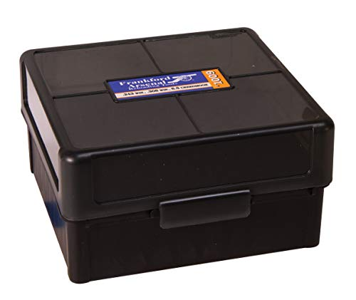 Frankford Arsenal Hinge-Top Ammo Box, 100Count, 1009 100 Ct (Ammo Winchester 308)