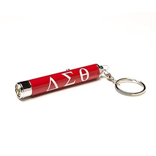 (Delta Sigma Theta Sorority Torch Light Keychain)