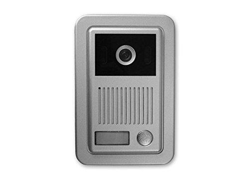 Citofono Esterno Moderno : Video citofono con videocamera e campanello esterno 2