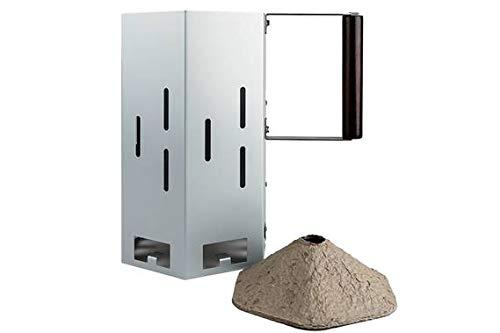 EZ Flame BBQ EZStart Charcoal Chimney System Eco-Friendly Chemical Free