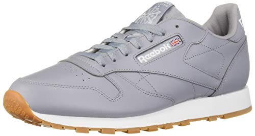 - Reebok Men's Classic Leather Sneaker, Cool Shadow/White, 8.5 M US