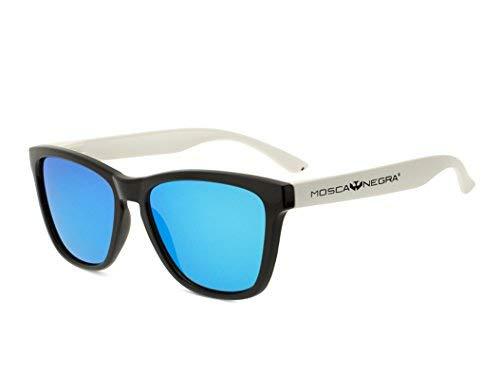 Gafas de sol MOSCA NEGRA modelo ALPHA TWIN Blue - Polarizadas