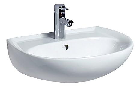 Waschbecken Amazon.Keramag Renova Nr 1 Waschtisch Waschbecken 55 Cm Weiß 223055000